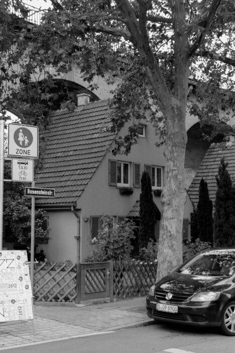 Häuser Rosensteinstraße